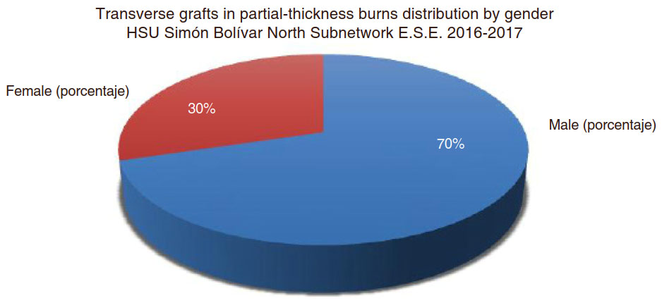 Applying skin graft sheets transversely to manage burn patients
